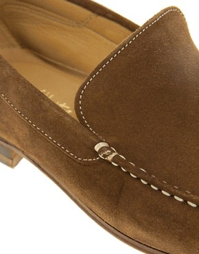 Image 2 ofJohn White Venice Suede Loafers
