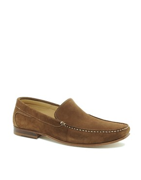 Image 1 ofJohn White Venice Suede Loafers