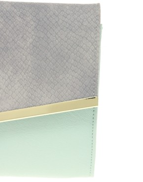 Image 4 ofASOS Diagonal Clutch