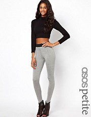 ASOS PETITE High Waist Legging With Elastic Waist Detail