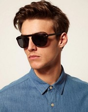 ASOS Flatbrow Keyhole Sunglasses