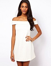 ASOS Off Shoulder Shift Dress