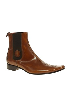 Image 1 ofJeffery West Muse Hi-Shine Chelsea Boots