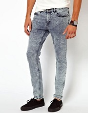 River Island - Vinny - Jeans a lavaggio acido