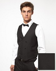 ASOS Slim Fit Tuxedo Waistcoat