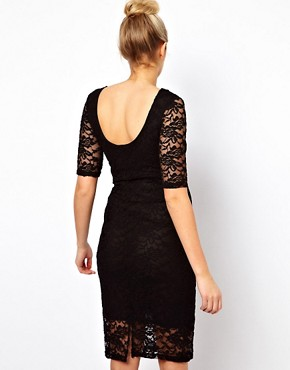 Image 2 ofASOS Maternity Midi Dress In Lace
