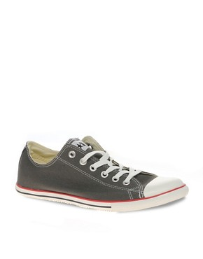 Image 1 ofConverse All Star Slim Plimsolls