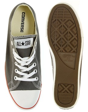 Image 3 ofConverse All Star Slim Plimsolls