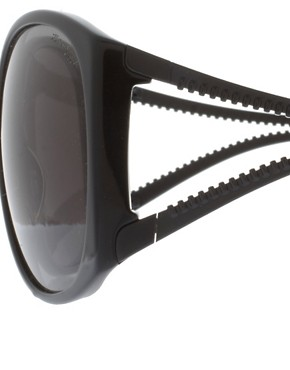 Image 4 ofKarl Lagerfeld Zip Arm Sunglasses