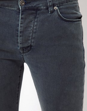 Image 3 ofASOS Skinny Jeans In Acid Wash