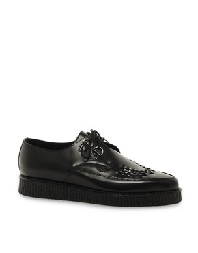 Image 1 ofUnderground Barfly Suede Creeper Shoes