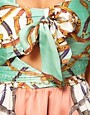 Image 3 ofRare Scarf Print Twist Dress