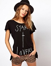 Wildfox Star X Lovers T-Shirt