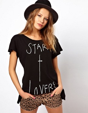 Image 1 ofWildfox Star X Lovers T-Shirt