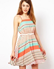 Jarlo Striped Dress With Belt