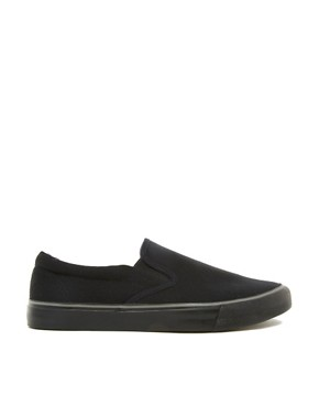 Image 4 ofASOS Slip On Plimsolls