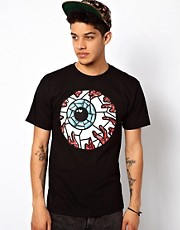 Mishka T-Shirt Stained Glass Keep Watch