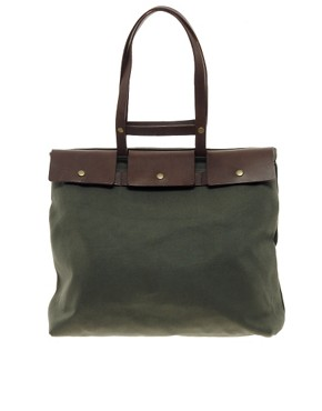 Image 1 ofJas M.B. Hoof Olive Tote