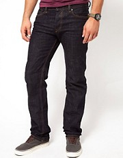 Diesel Jeans Waykee Regular Fit 0807R Dark Crinkle Wash