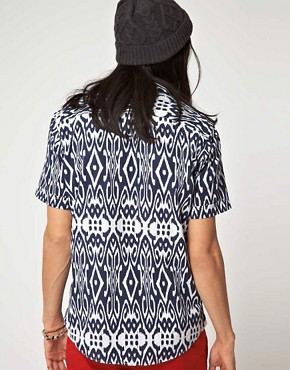 Image 2 ofBenson Patterned Short Sleeve Shirt