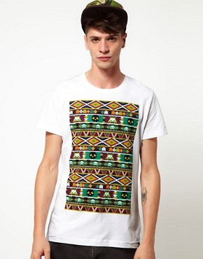 Image 1 ofJoystick Junkies Aztec T-Shirt