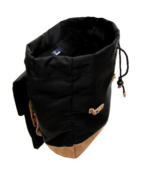 Image 2 ofFred Perry Suede Panel Backpack