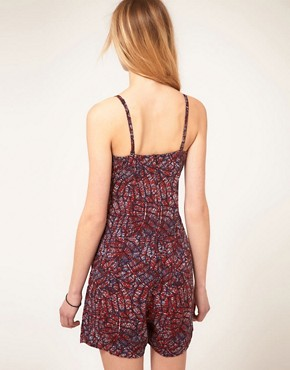 Image 2 ofRuby Rocks Batik Playsuit