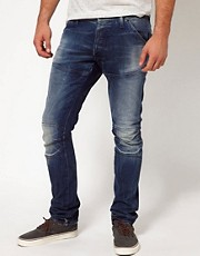 G-Star Jeans Elwood 3D Super Slim Fit Medium Aged