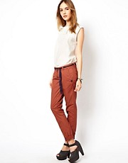 Maison Scotch Light Weight Cotton Chino with Belt