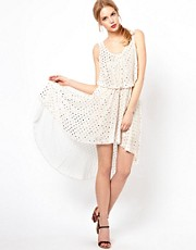 Love Dotty Hi Lo Dress