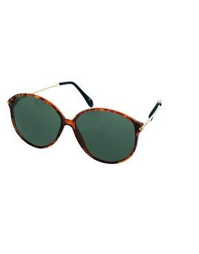 Image 1 ofJeepers Peepers Vintage Oversized Sunglasses
