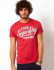 Superdry Ticket Type Entry T-Shirt