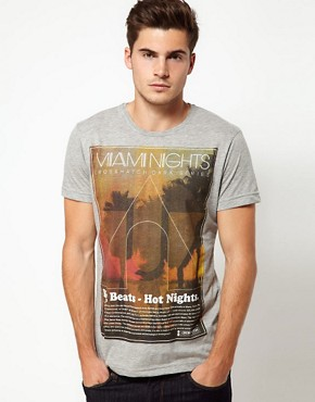 Image 1 ofCrosshatch Miami Nights T-Shirt