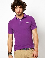 Superdry Vintage Pique Polo Shirt