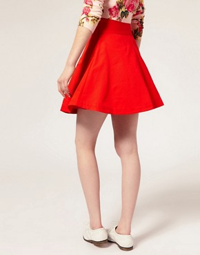 Image 2 ofASOS Full Mini Prom Skirt