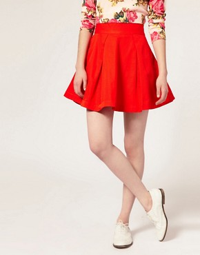 Image 4 ofASOS Full Mini Prom Skirt