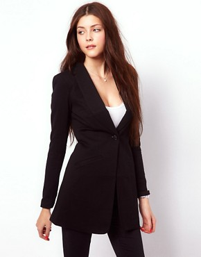 Image 1 ofVero Moda Long Line Blazer