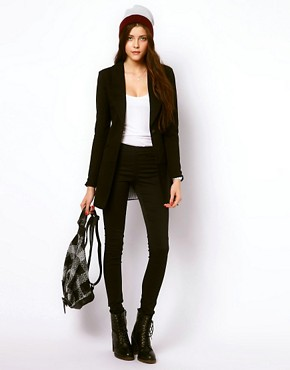 Image 4 ofVero Moda Long Line Blazer