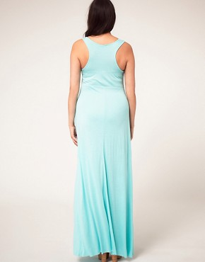Image 2 ofASOS CURVE Exclusive Jersey Maxi Dress