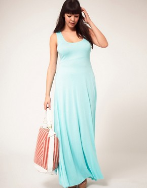 Image 4 ofASOS CURVE Exclusive Jersey Maxi Dress