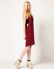 Silent Damir Doma Twisted Panel Dress