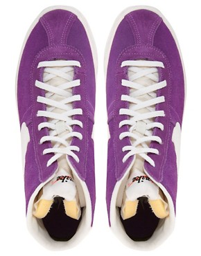 Image 2 ofNike Bruin Lite Mid Purple High Top Trainers