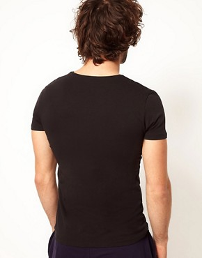 Image 2 ofDiesel Michael V Neck T-Shirt