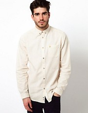 Farah Vintage Shirt with Fleck Pattern