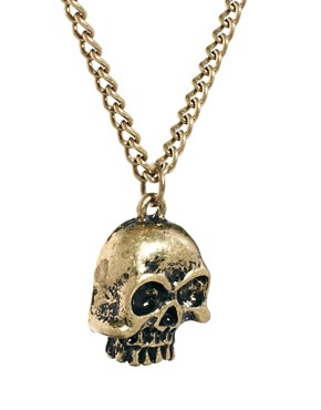 Image 4 ofASOS Skull Necklace