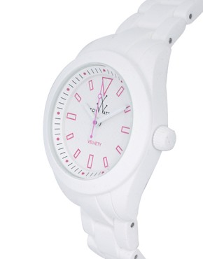 Image 4 ofToywatch White Rubber Strap Watch