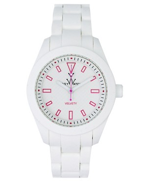 Image 1 ofToywatch White Rubber Strap Watch