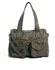 Pieces Milo Shop Khaki Shoulder Bag