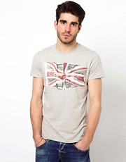 Pepe Jeans T-Shirt Flag Logo