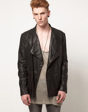 Image 1 ofMuuBaa Leather Jacket